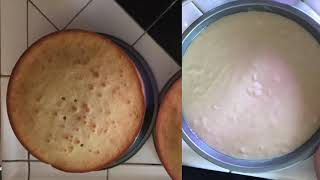 Funny baking video (Classic Vanilla Cake)