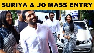 Suriya and Jyothika Mass Entry at PROMED Hospital Opening..!