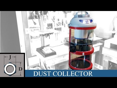 Building a small Shop Vac Cyclone Dust Collector