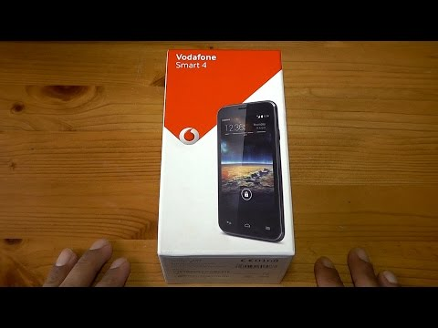 Vodafone Smart 4 Unboxing & First Look
