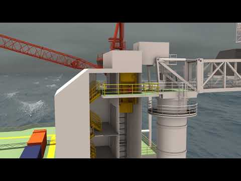 Sirius Accommodation Semi Submersible 2012
