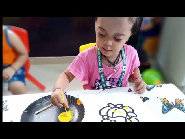Activity Based Learning @ THE RADIANT PRE-SCHOOL