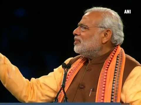 OCI cards will be given for lifetime: PM Modi at Ricoh Coliseum