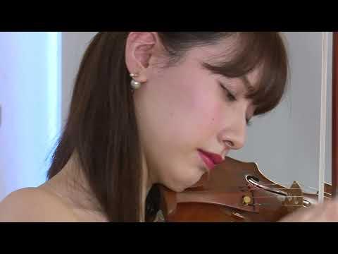 "Aspen Online Concert ""Save The Young Artists®"" Rio Arai, violin  荒井里桜"