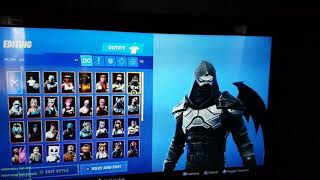 Fortnite shows all my 49 skins!!!