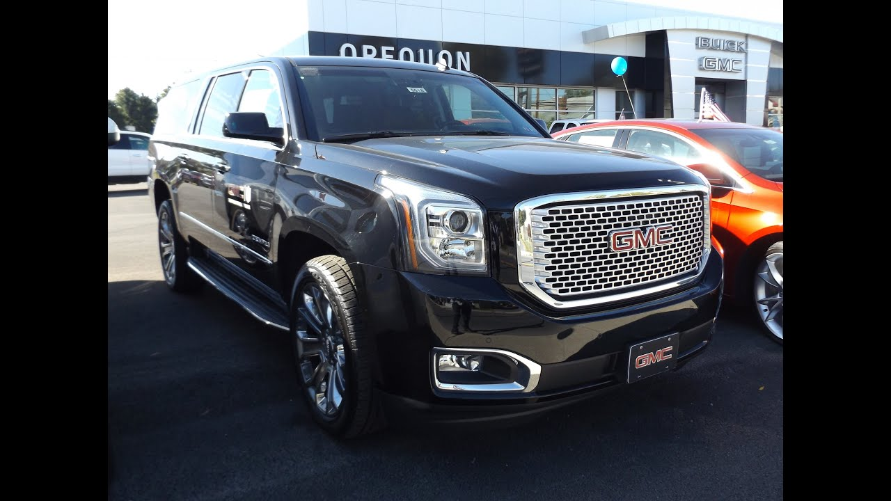 2015 GMC Yukon XL Denali 6 2L V8 Start Up  Tour  and Review   YouTube