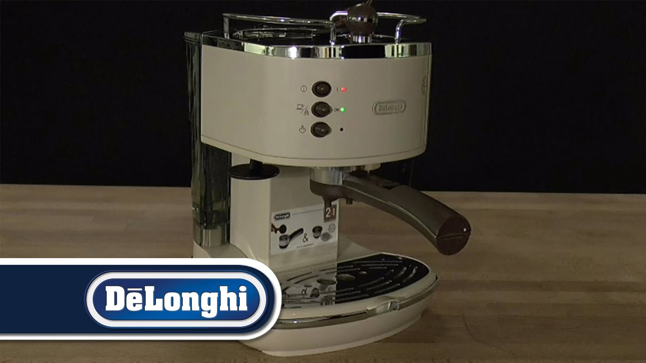 Delonghi Coffee Maker First Use : De Longhi How To First Use Icona - YouTube