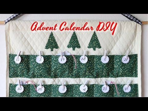 Advent Calendar DIY - Simple Sewing Tutorial