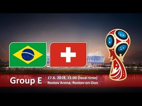 World Cup 2018. Game 9 of 64. Brazil vs Swisstzerland