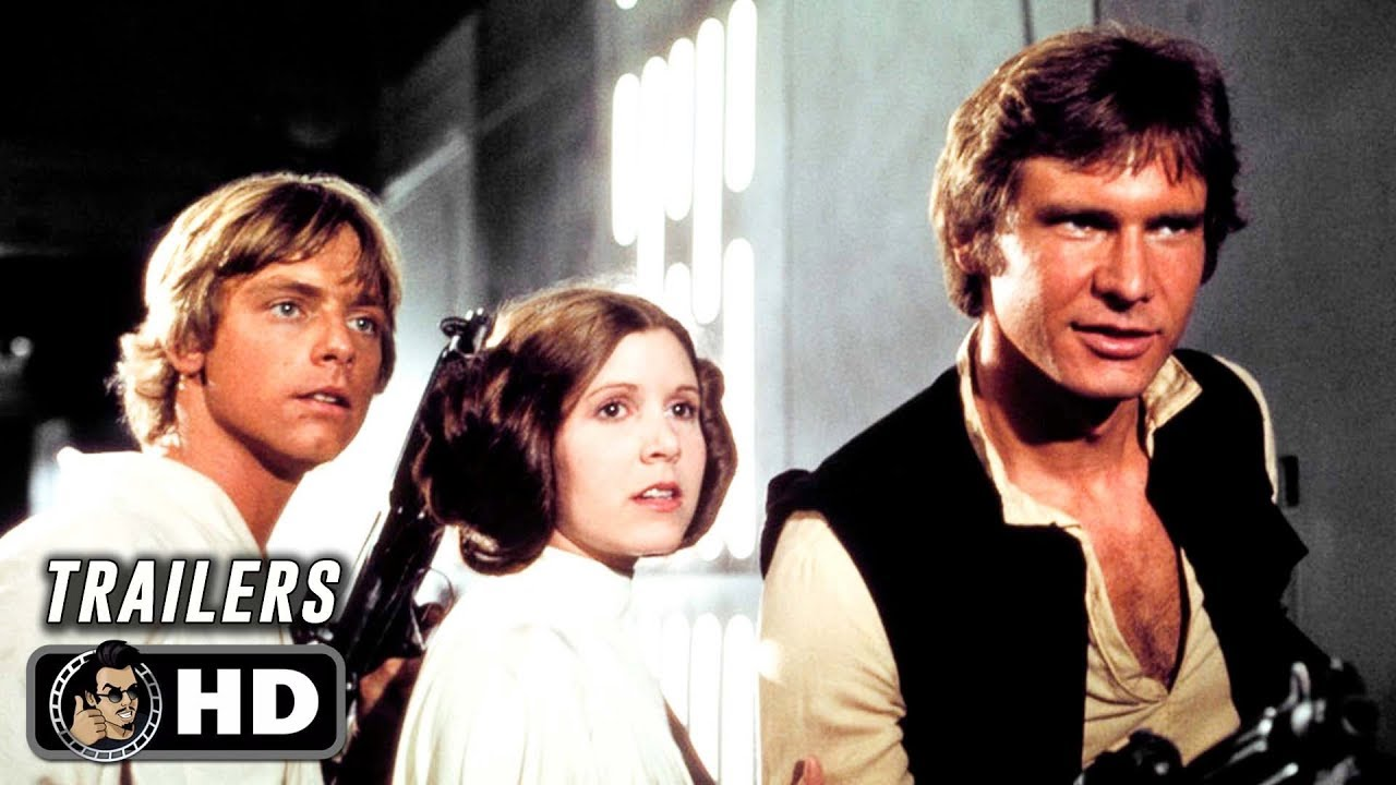 All Star Wars Original Trilogy Classic Trailers 1977 1982 Youtube