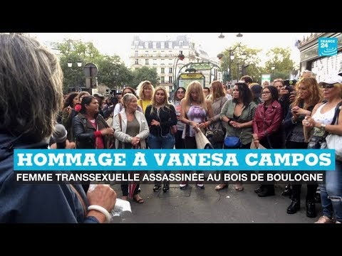 Hommage à Vanesa Campos, travailleuse du sexe transgenre tuée au Bois de Boulogne