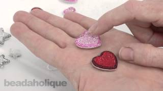 Swarovski Crystal Pave Pendants  How to Make a Necklace and Earrings