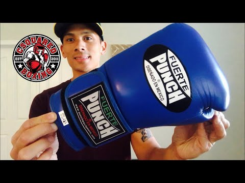 Punch Equipment Fuerte Ultra Boxing Gloves REVIEW- THE BEST WINNING INSPIRED GLOVE I'VE USED!