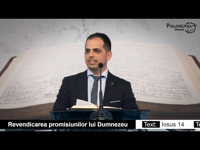 Iulian Polocoșer || Revendicarea Promisiunilor lui Dumnezeu