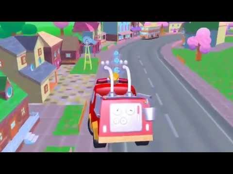 Мультик про пожарную машину - Новые мультики 2015 - игры про пожарную машину