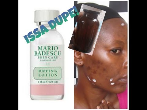 How To Make A Mario Badescu Acne Drying Lotion Dupe Diy