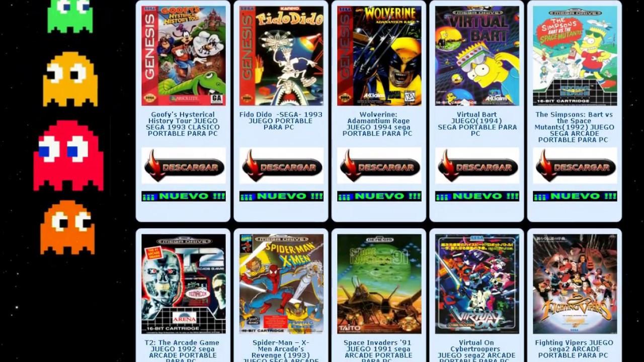 Descargar Juegos De Sega Para Tu Pc Sega Master System Sega Mega