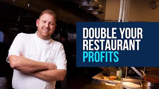 Restaurant Marketing Ideas: Double Restaurant Profits