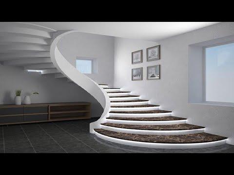 100 Modern Staircase Design Ideas Living Room Stair Designs For | Staircase Designs For Homes | Concrete | Contemporary | Modern | Round | Luxury