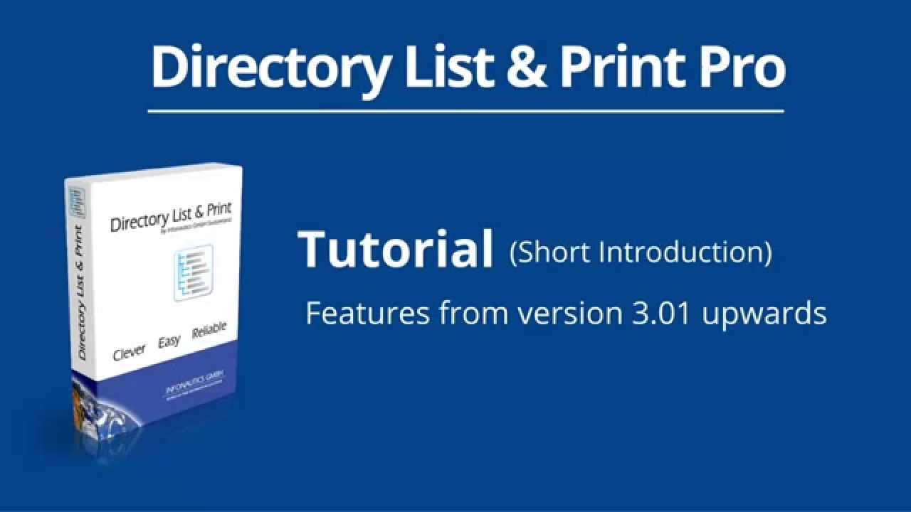 How to List, Print and Export Folder Contents in Windows - Directory List &  Print