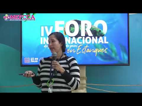 IV Foro Internacional de Producción de Peces en Estanque - Exposición Alimentación de Peces con Recursos de la Finca