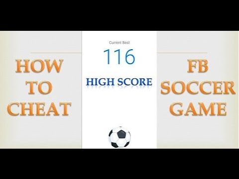 How To Cheat Facebook Messenger Soccer Game | Facebook Soccer Cheat