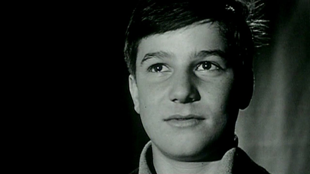 Jean-Pierre Léaud at the 1959 Cannes Film Festival for 400 Blows