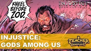 AJOELHE-SE DIANTE DE ZOD   Injustice: Gods Among Us   PC Gameplay