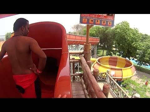 Twister Water Slide at Dreamland