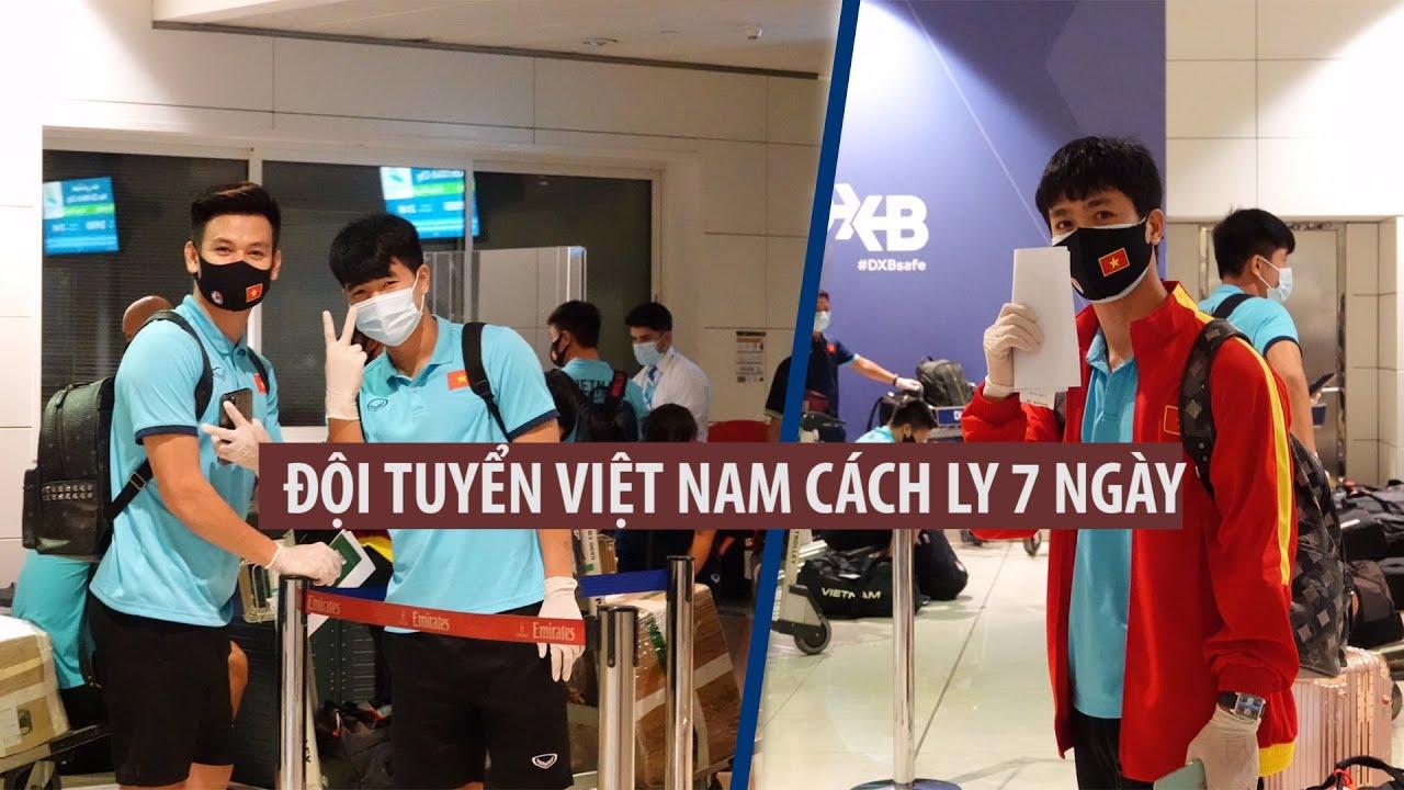 Tại sao đội tuyển Việt Nam chỉ cần cách ly 7 ngày?