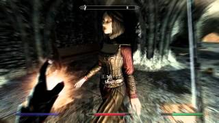 Skyrim Vampire Gameplay - Dawnguard Quests - Chasing Echoes