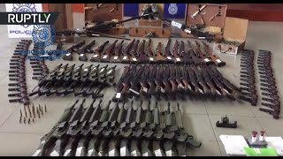 Spanish police seize €10mn worth of vintage black market arms, including anti aircraft weapons