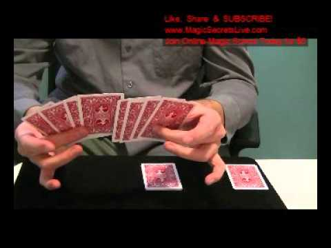 FREE MAGIC TRICKS: THE TRAVELLING CARD