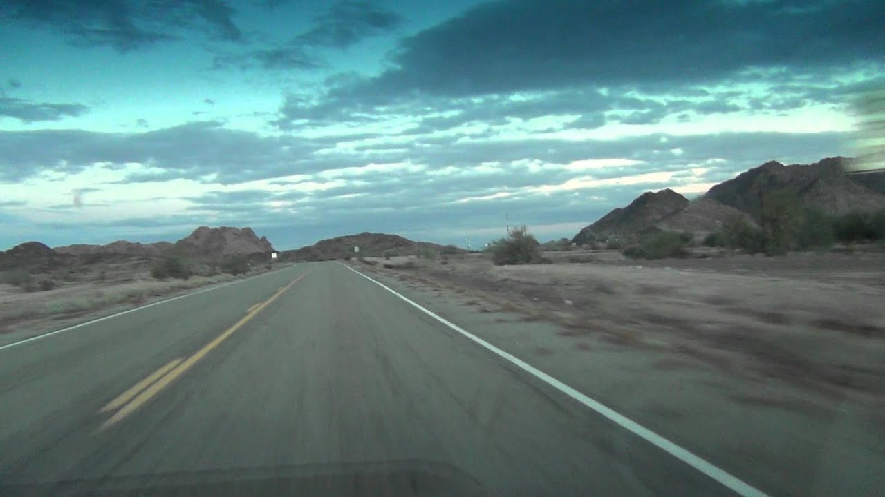 Roll, Arizona drive on...
