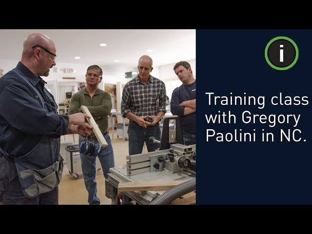 Festool Training - North Carolina: Get the most out of your power tools with Gregory Paolini