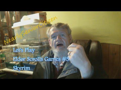 ELDER SCROLLS : SKYRIM #3ish - Let's Play Elder Scrolls Games! Yay!