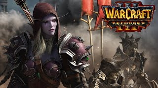 Warcraft III Reforged | Forsaken Race Gameplay | Sylvanas Model