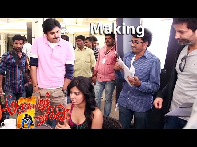 Attarintiki Daredi Movie Making Scenes || Samantha Proposes to Pawan Kalyan (Full HD) Travel Video