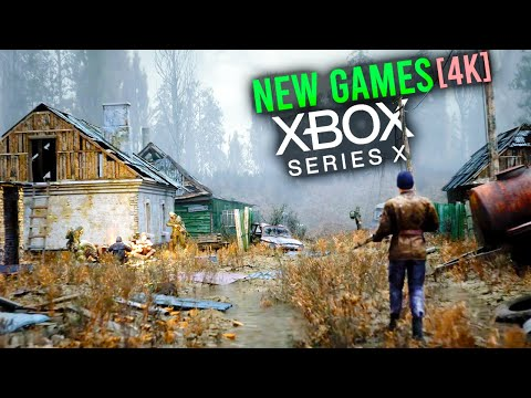Top 10 NEW Xbox Series X Games From The Xbox Event [4K Video]