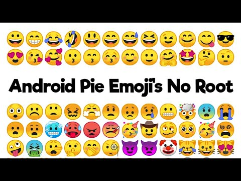 Get Android Pie Emoji's On Any Android No Root 2019