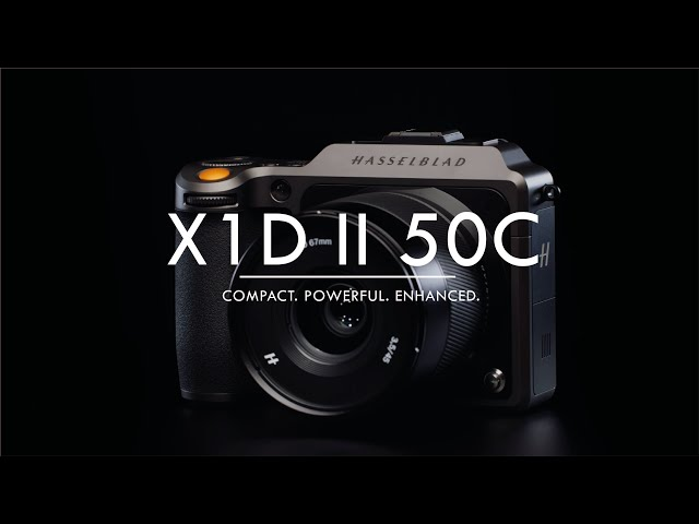 100MP? Nope – the Hasselblad X1D II 50C is a $5,750 refresh of the