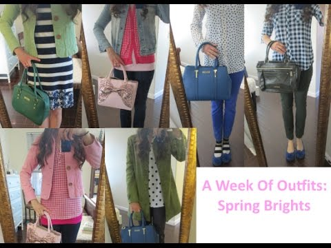 One Week Of Style: Spring Brights