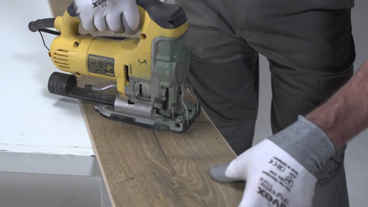 Installing Laminate Flooring How To Cut Saw