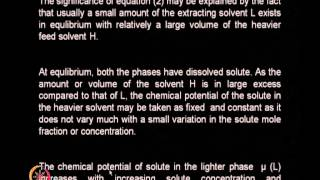 Mod-01 Lec-16 Liquid-Liquid Extraction