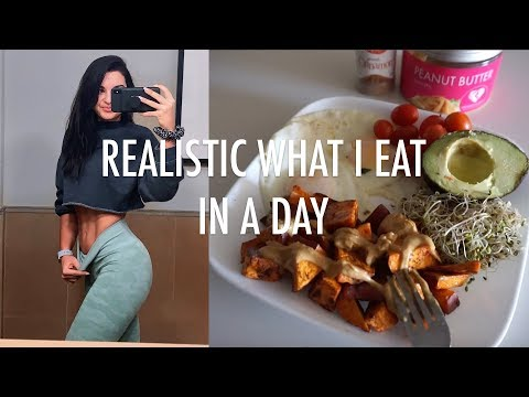 Realistic Full Day of Eating | My Diet/Healthy Meal Examples