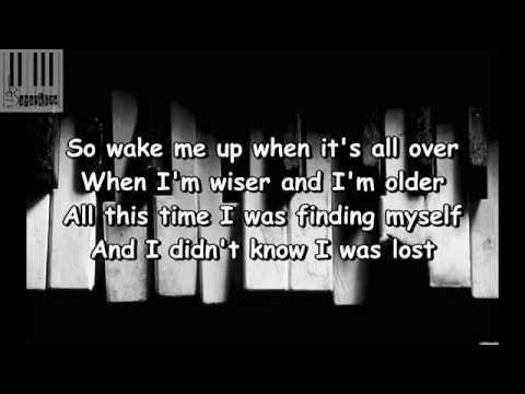 Wake Me Up (Lyrics) / Boyce Avenue - Wake Me Up (Lyrics)