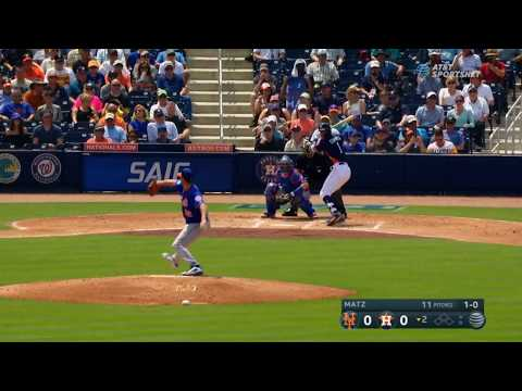 New York Mets vs Houston Astros | Carlos Correa Home Run