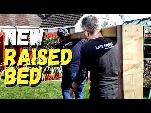 Replacing a raised bed | Railway Sleeper Raised Bed