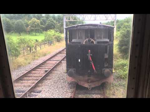 Class 25 cab ride on the Great Central Railway at Ruddington