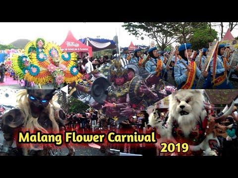 VIRAL!! BEGINI KESERUAN MALANG FLOWER CARNIVAL 2019 PESONA BUDAYA INDONESIA
